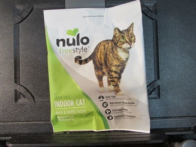 Nulo Freestyle Cat GF Indoor Duck & Lentils 2 oz (11/18) (A.P3)