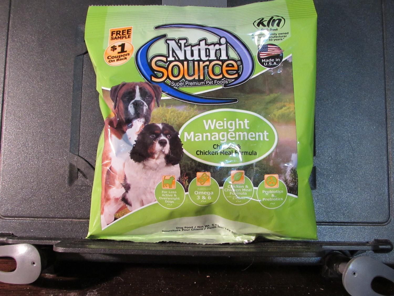 Nutrisource Chicken & Pea Formula Grain Free Dog Food 5 oz (6/19) (A.P8)
