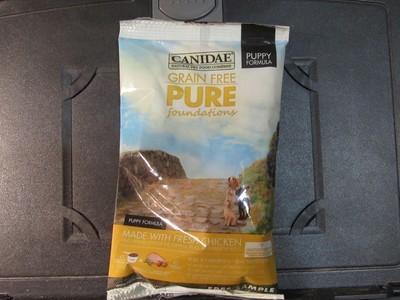 Canidae Pure Foundation GF Puppy Fresh Chicken, Peas & Whole Eggs 3 oz (2/19) (A.O6)
