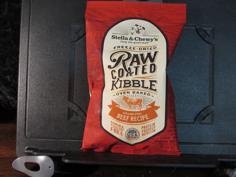 Stella & Chewy Freeze Dried Raw Coated Kibble Beef GF 4 oz (A.O5)