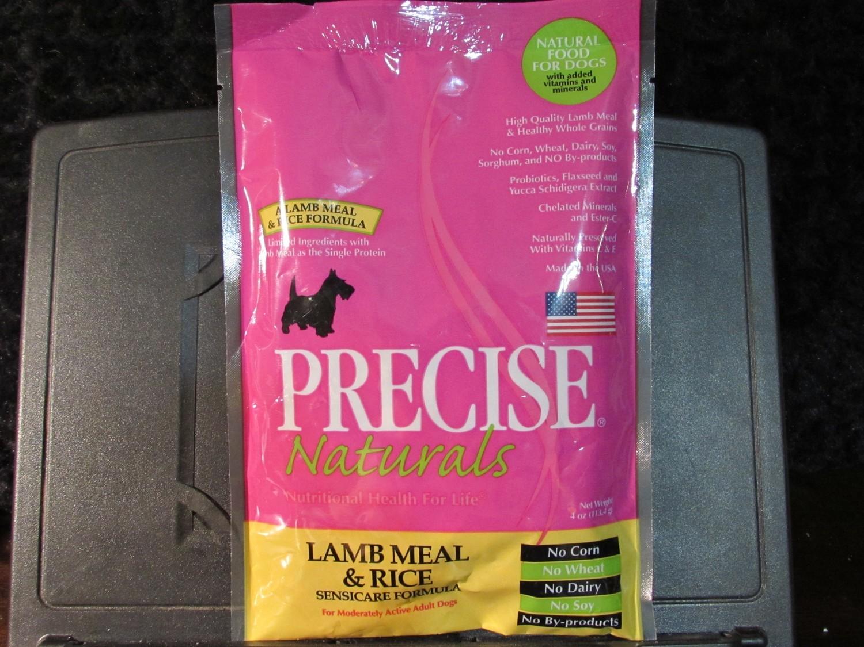Precise Naturals Lamb & Rice Dog 4 oz (1/19) (A.O5)
