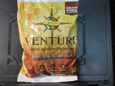 Earthborn Venture Dog GF LID Duck, Pumpkin, Sunflower Oil 3.5 oz (1/19) (A.C2/DDS)