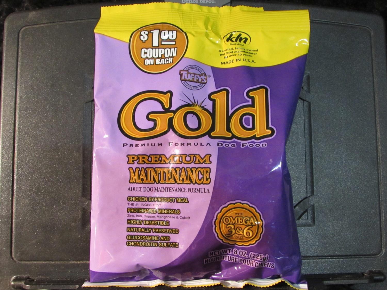 Tuffy's Gold Maintenance Chicken Dog Food 8 oz (7/18) (A.P8)