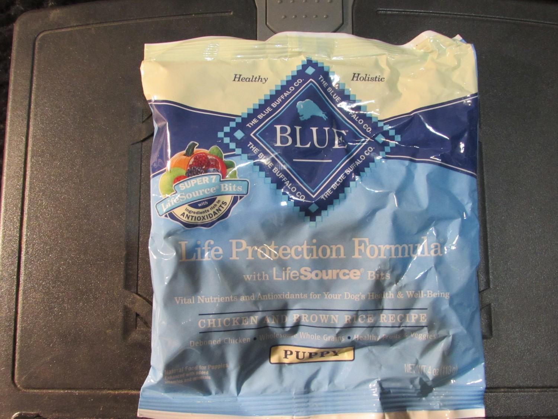 Blue Buffalo Chicken & Brown Rice Puppy 4 oz (10/18) (A.P5)