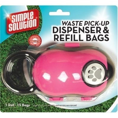 **BLUE ONLY** Simple Solutions Waste Pick Up Dispenser & Refill Bag **PICTURE FOR REPRESENTATION ONLY** (B.W2)