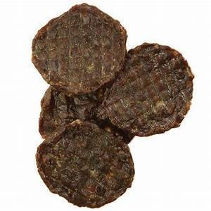 "Happy Howies 4"" 60 Count Real Beef Burgers Natural Dog Treats Chews (11/18) (T.A8)"
