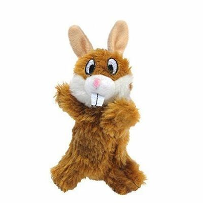 Kline Runtzees Furry Rabbit Ivy Plush Dog Toy (B.6/C7)
