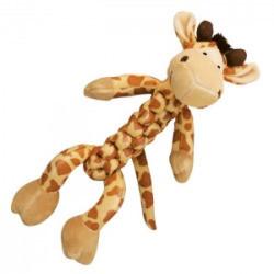Kong Braidz Braidz Giraffe Dog Toy- Plush Dog Toys - Small (B.C3/AM10)