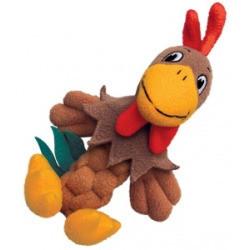 """Kong Braidz Pudge Braidz - Rooster: 8"""" Dog Chew Toys (B.C3)"""
