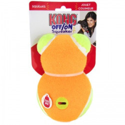 Kong Off/On Squeaker - Bear: Large Squeaky Dog Toys (B.B3)
