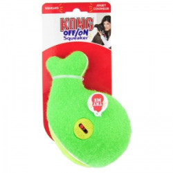 Kong Off/On Squeaker - Whale: Large  Squeaky Dog Toys (B.C3/TOY)
