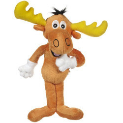 Multipet 12-inch Bullwinkle Plush Dog Toy (B.C3)