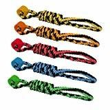 Multipet Rope Tug with One Wheel Dog Toy, 18-Inch (B.C3)