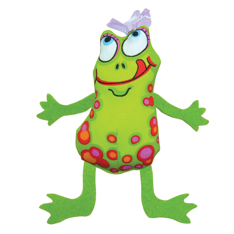 "Petstages Frog Fly Cat Toy, 8.5"" L X 3.5"" W X 1.5"" H (B.C2/C8)"
