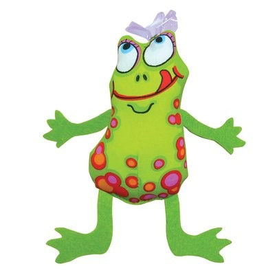 Petstages Frog Fly Cat Toy, 8.5