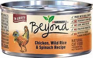 Purina Beyond Chicken, Wild Rice & Spinach in Gravy Cat SINGLES 3 oz (8/19)