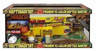 **PICKUP VAN, TX ONLY** Reptihabitat 40 Gallon Reptile Habitat Kit Turtles /Dragons /snakes (B.W4)