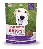 **SALE** Look Who's Happy Fetch'n Fillets Bison Jerky Recipe Jerky Dog Treats, 3 Oz (12/17) (T.A1)