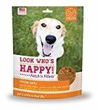 **SALE** Look Who's Happy! - Fetch'n Fillets Chicken Jerky (4 oz) (11/17) (T.A4)