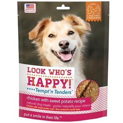 **SALE** Look Who's Happy! Tempt'n Tenders CHICKEN & SWEET POTATO (4 OZ) (2/18) (T.B9)