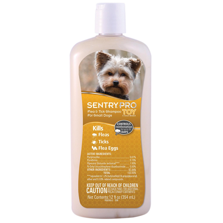 SENTRY PRO Flea & Tick Shampoo for Small Dogs (12 fl oz) (O.G3/PR)