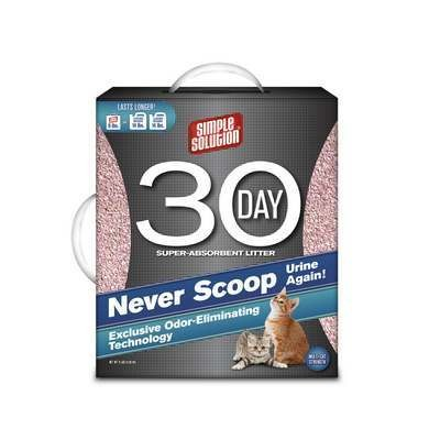 Simple Solution Never Scoop Cat Litter 9lbs (A.C1)
