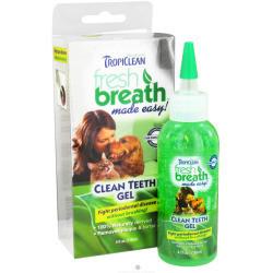 Tropiclean Fresh Breath Clean Teeth Gel for Dogs 4. ounces (O.A1/Z5/PR)