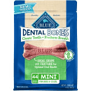 BLUE BUFFALO DENTAL BONES 12 OZ 44 BONES (2/19) (T.C3)