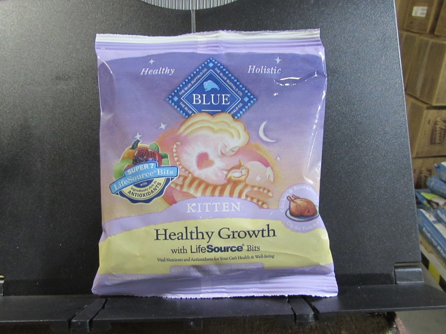 BLUE BUFFALO KITTEN HEALTHY GROWTH DEBONED CHICKEN 4 OZ (04/19) (A.Q3/CD)