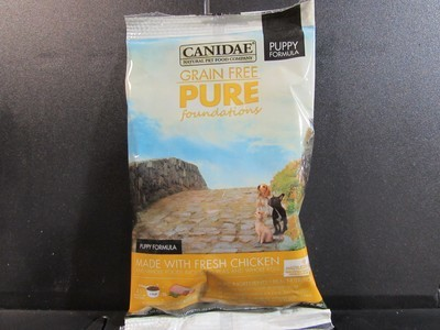 CANIDAE GF PURE PUPPY W/FRESH CHICKEN 3 OZ (2/19) (A.C2)