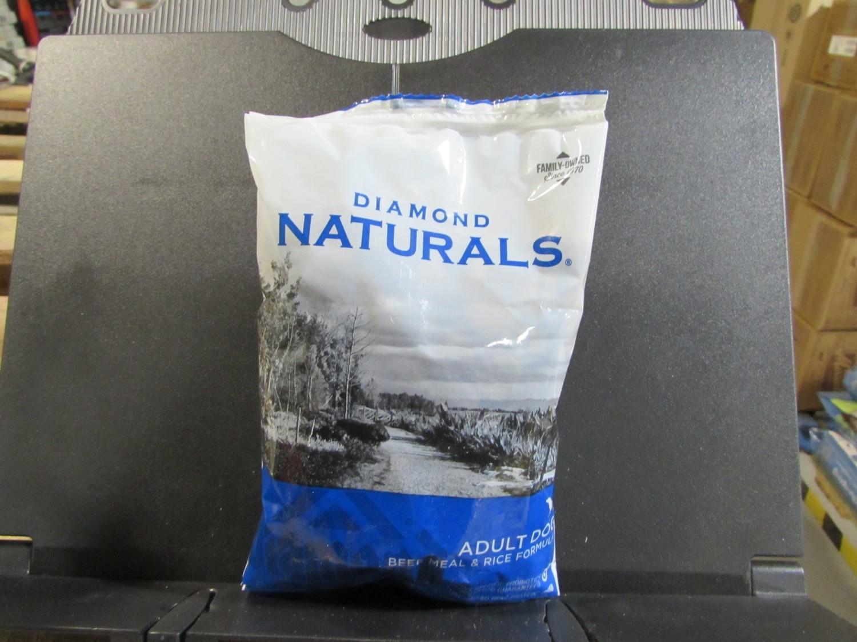 Diamond Naturals Adult Dog Beef & Rice 6 oz (11/18) (A.P6)