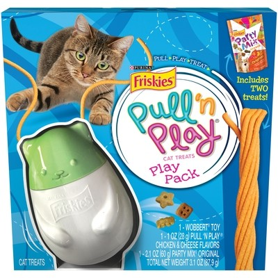 **SALE** Friskies Wobbert Cat Toy Play Pack (Pull n Play Line)  (TOY ONLY) (T.G5)