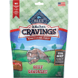 Blue Buffalo Kitchen Cravings Sausages Dog Treat 6 oz (2/19) (T.A2)