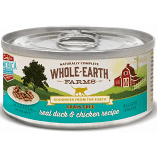 Merrick Whole Earth Farms GF Morsels Duck & Chicken Wet Cat Food 5 oz 24 count (3/19) (A.K3/K4/M3/M5/N2)