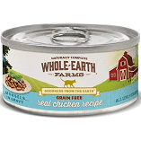 Merrick Whole Earth Farms Morsels GF Chicken & Turkey Wet Cat Food 2.75 oz 24 count (3/19) (A.M1)