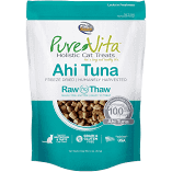 "**SALE** Pure Vita ""Freeze Dried"" ""Grain Free"" Ahi Tuna Cat Treats  1.1 oz (4/19) (A.O7)"