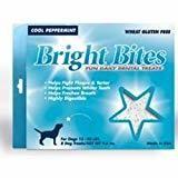 Diamond Bright Bites Daily Dental Peppermint Flavor Dog Treats Medium 9.6 OZ 8 COUNT (12/18) (T.A14)