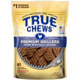 TRUE CHEWS PREMIUM GRILLERS REAL CHICKEN 12 OZ  (5/19) (T.A10)