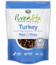 "Pure Vita ""Freeze Dried"" ""Grain Free"" Turkey Dog Treats  2.2 oz (3/19) (T.A10)"