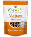 "Pure Vita ""Freeze Dried"" ""Grain Free"" Venison Dog Treats 2 oz (3/19) (T.D1/D6/D11)"