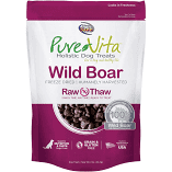 "**SALE** Pure Vita ""Freeze Dried"" ""Grain Free"" Boar Dog Treats 2 oz (3/19) (A.K2/DT)"