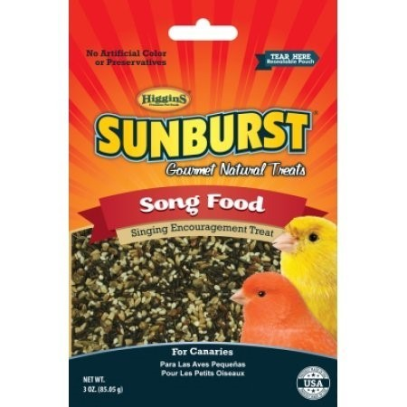 **SALE** Higgins Pet Food Sunburst Treat Song Food, 3 Oz. (5/17) (T.F3)