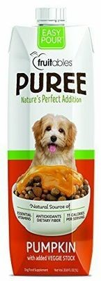 **SALE** Fruitables Natural Puree Pumpkin Supplement Food Dog Fiber 33 FL OZ FOR DOGS (6/19) (A.K5)