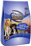 NutriSource Small/Medium Breed Puppy 35 lbs (1/19) (A.F4)