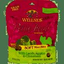 WELLNESS GF PETITE TREATS SOFT MINI-BITES LAMB, APPLES & CINNAMON 6 OZ (6/19) (T.A8/A9)