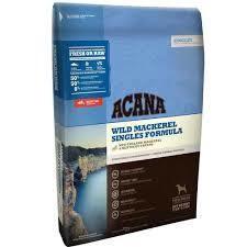 ACANA Singles Wild Mackerel Dog Food 4.5 lb (3/19) (A.L5)