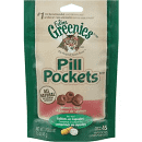 GREENIES SALMON FELINE PILL POCKETS 1.6 OZ (7/19) (A.R6)