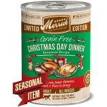 MERRICK GF CHRISTMAS DAY DINNER CHICKEN SWEET POTATO, DUCK, PEAS FOR DOGS 12.7 OZ 12 COUNT (7/19) (A.K4)