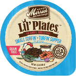MERRICK LIL PLATES GF SURFIN & TURFIN SUPPER IN GRAVY 3.5 OZ 12 COUNT (1/19) (A.D1/N7