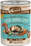 MERRICK SIZZLIN SUMMER SUPPER GF TURKEY, CARROTS & APPLES 12.7 OZ 12 COUNT (3/19) (A.J3/DW)